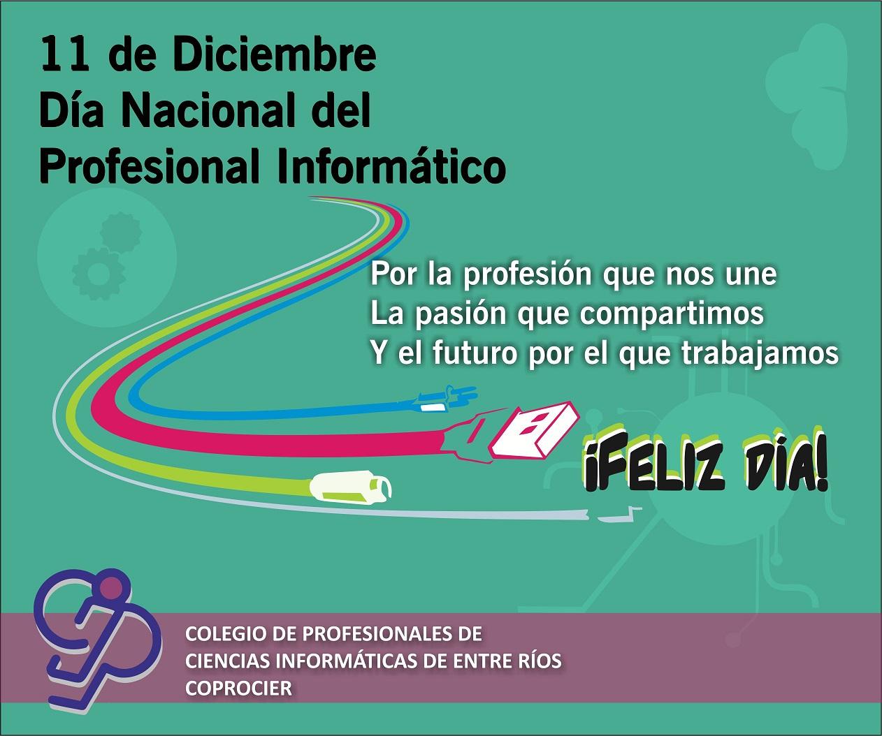 11 de Diciembre: Día Nacional del Profesional Informático