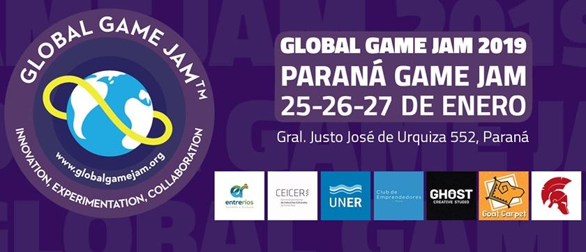 Paraná es sede de la Global Game Jam 2019