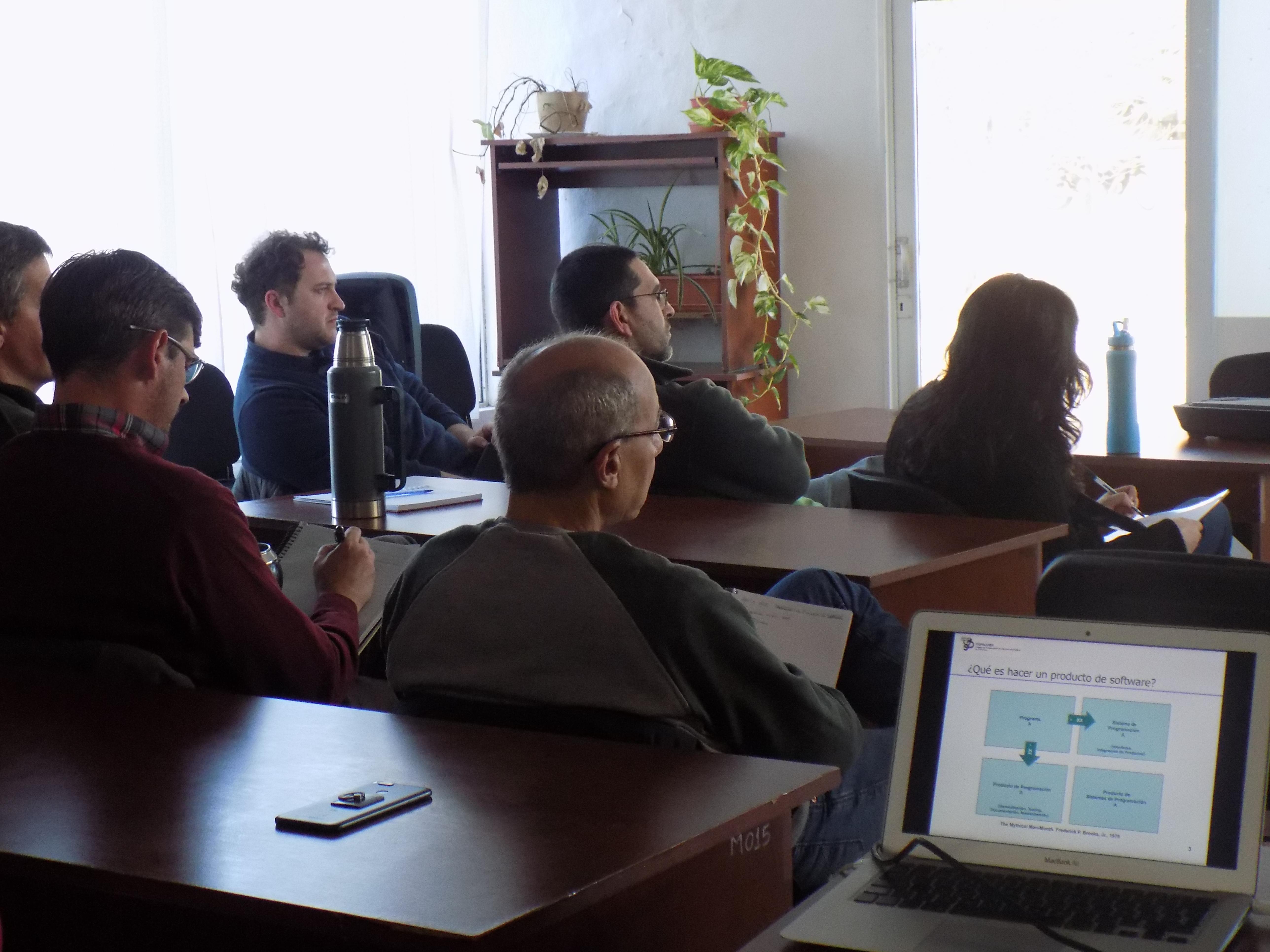 Continuó el ciclo de charlas, con «Estimación de proyectos de Software»