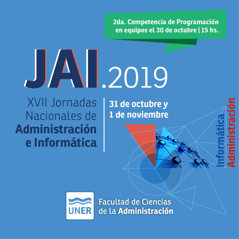Jornadas Nacionales de Administración e Informática en Concordia
