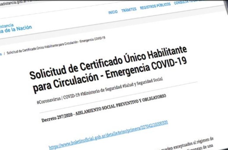 Sobre el certificado único de circulación para profesionales
