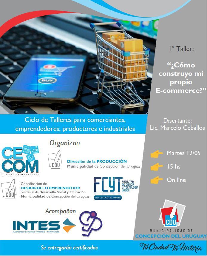 """Taller virtual en Concepción  del Uruguay sobre E-comerce"""""""