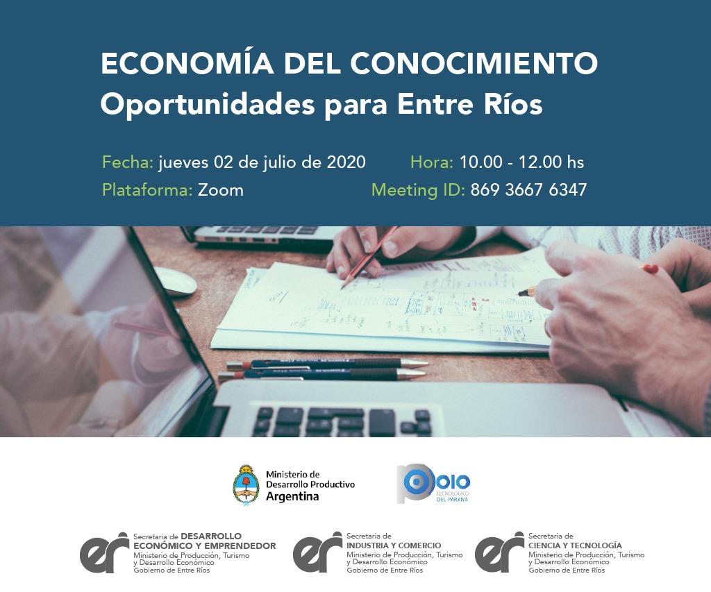 Economía del Conocimiento: oportunidades para Entre Ríos
