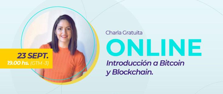 Charla de introducción a Bitcoin y Blockchain