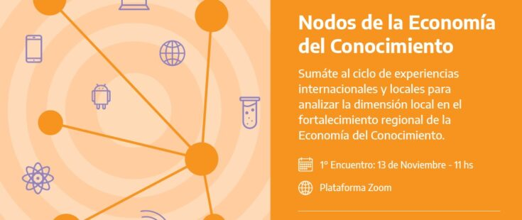 """Ciclo: """"Nodos de la Economía del Conocimiento"""""""
