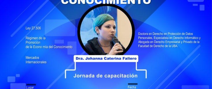"""Jornada de Capacitación sobre «Economía del Conocimiento"""" (Ley 27.506)"""