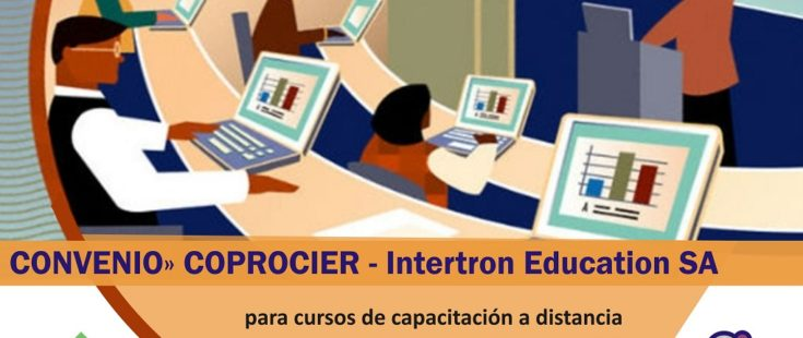 Convenio entre COPROCIER e Intertron Education para capacitación a distancia