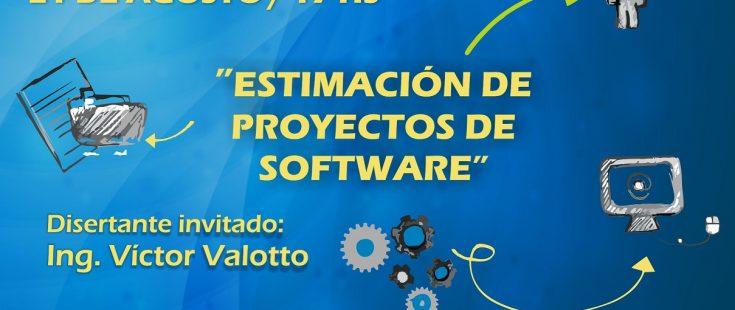 """Ciclo de charlas en COPROCIER: """"Estimación de Proyectos de Sotfware"""""""