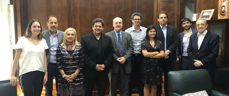 Reuniones institucionales en el ámbito nacional
